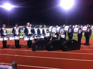 BHS Instrumental Boosters - new drum line